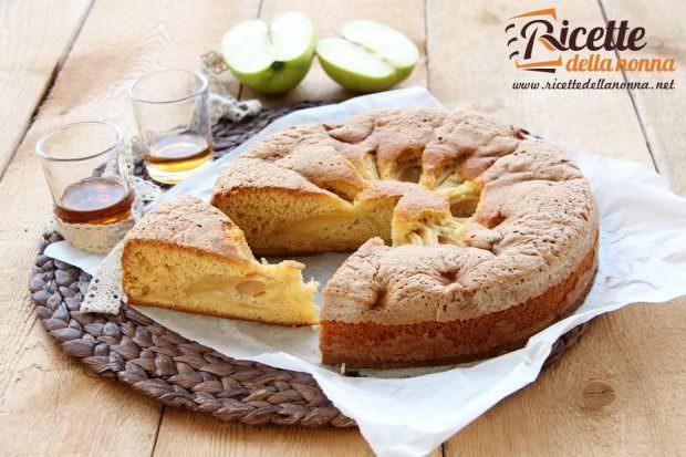 Ricetta torta di mele al passito
