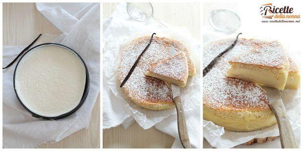 Preparazione torta magica