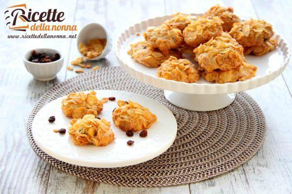 Biscotti ai cornflakes o Rose del deserto