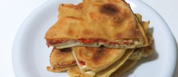 Focaccia di pasta matta alla ricotta ricette della nonna for Ricette con la pasta