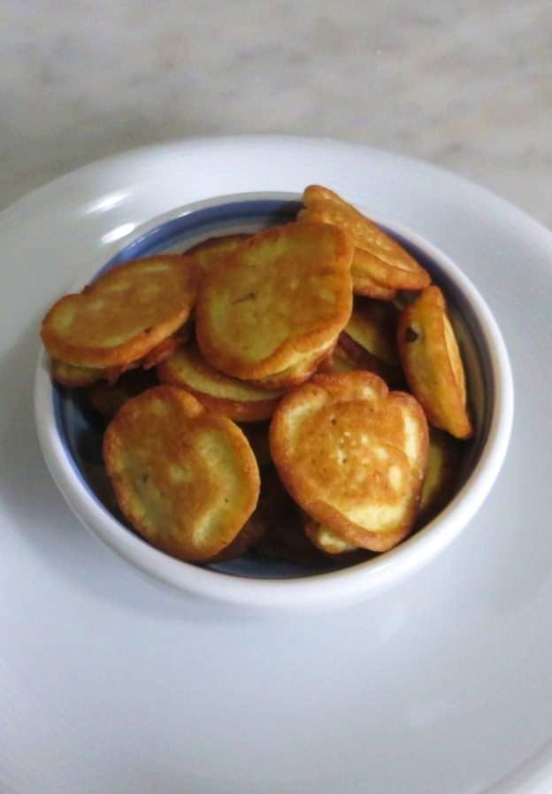 Frittelline di farina di ceci