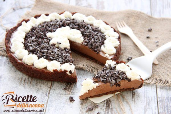 Foto crostata super cioccolatosa
