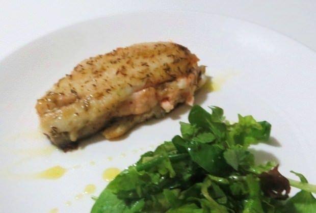 Spigola e salmone in padella