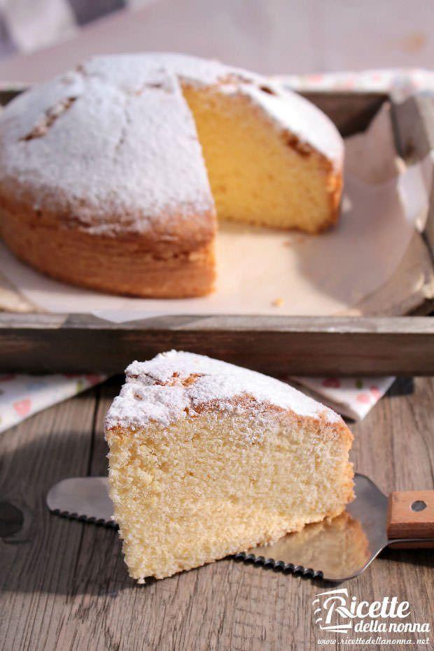 Torta paradiso ricetta e foto