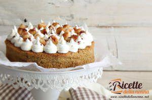 Torta senza glutine al caffè e noci di Macadamia