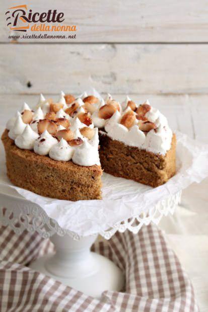 Foto torta senza glutine al caffè e noci di macadamia