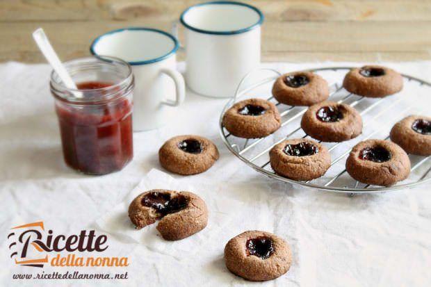 Ricetta cookies alla marmellata senza glutine