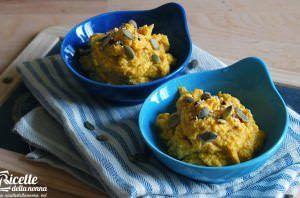 Hummus di zucca arrosto e tofu