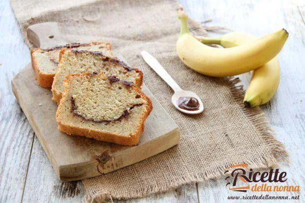 Plumcake Nutella e banana
