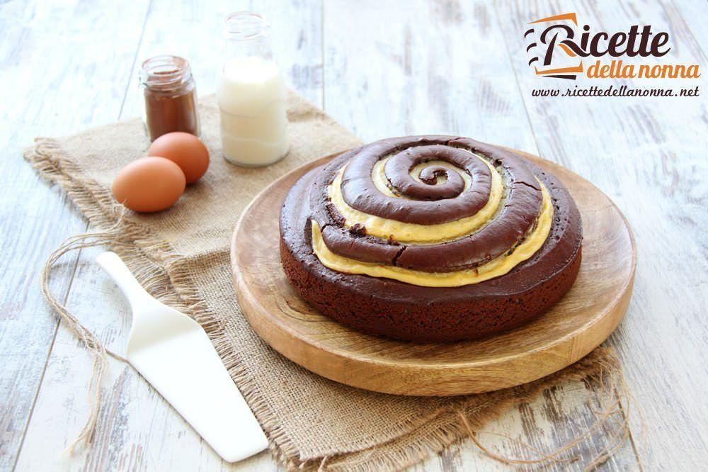 Torta girella ricette della nonna for Ricette torte semplici