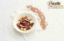 Panzanella di lenticchie di Capodanno