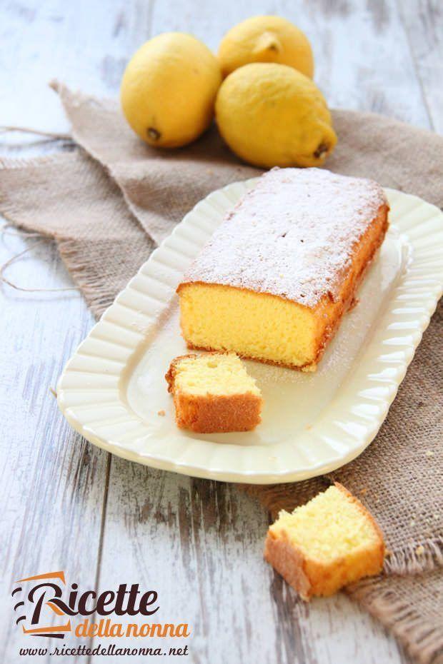 Foto Plumcake al limone