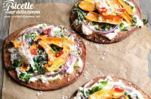 Pizzette (Pita) alla patata dolce