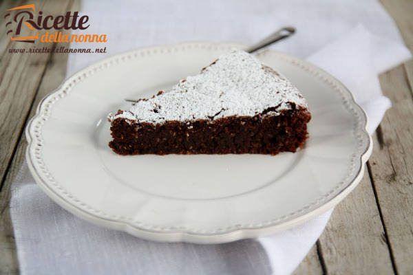 Torta al cioccolato e Nutella