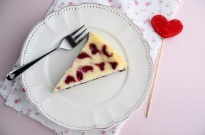 Cheesecake alla ricotta e lamponi