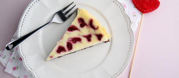Cheesecake-alla-ricotta-e-lamponi