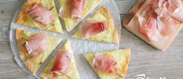 pizza senza glutine patate speck 1