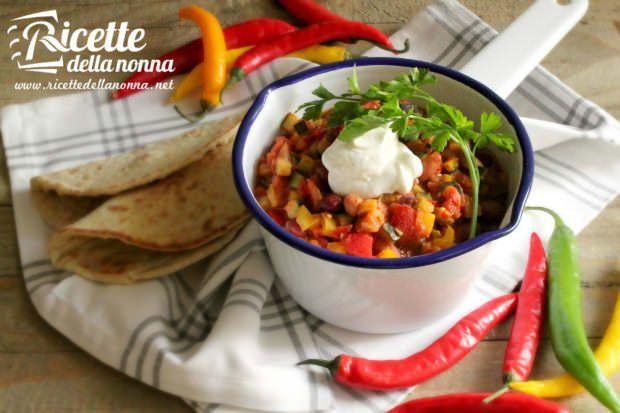 Chili vegano ai fagioli rossi