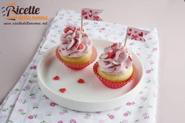 Mini cupcakes ai lamponi