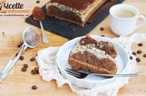 Plumcake vegan al cappuccino