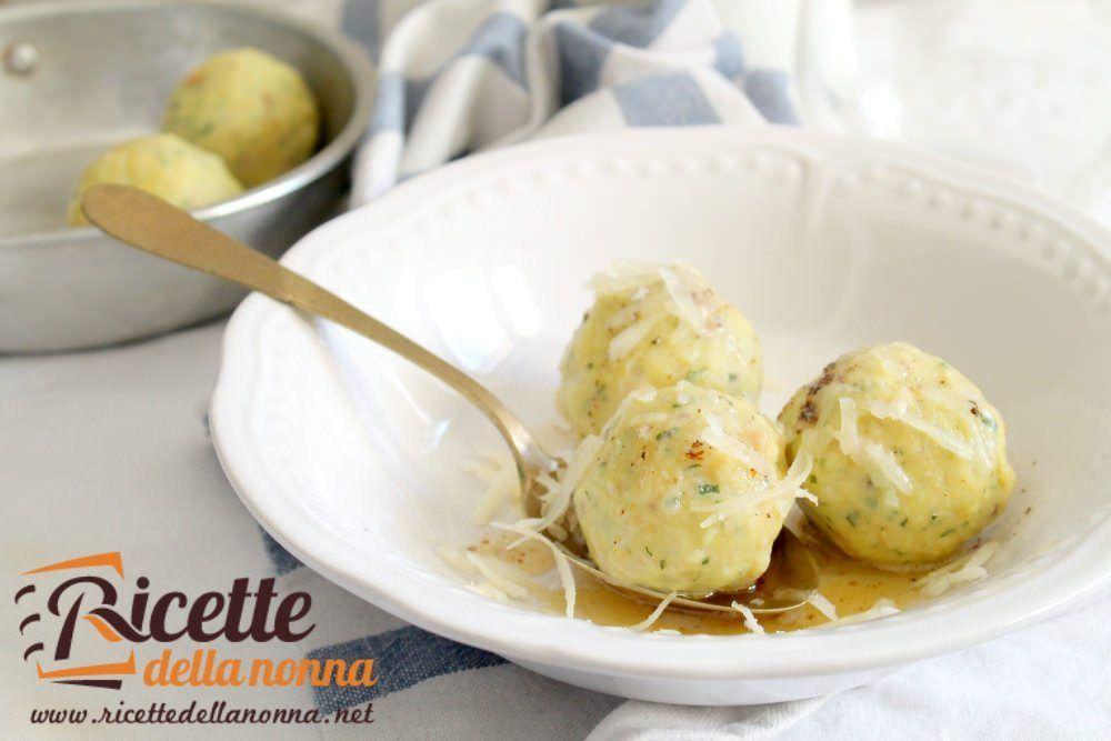 Canederli tirolesi allo speck ricette della nonna for Ricette semplici cucina