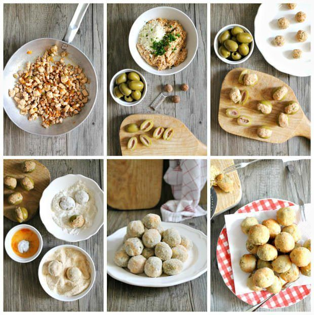 Olive all'ascolana step by step