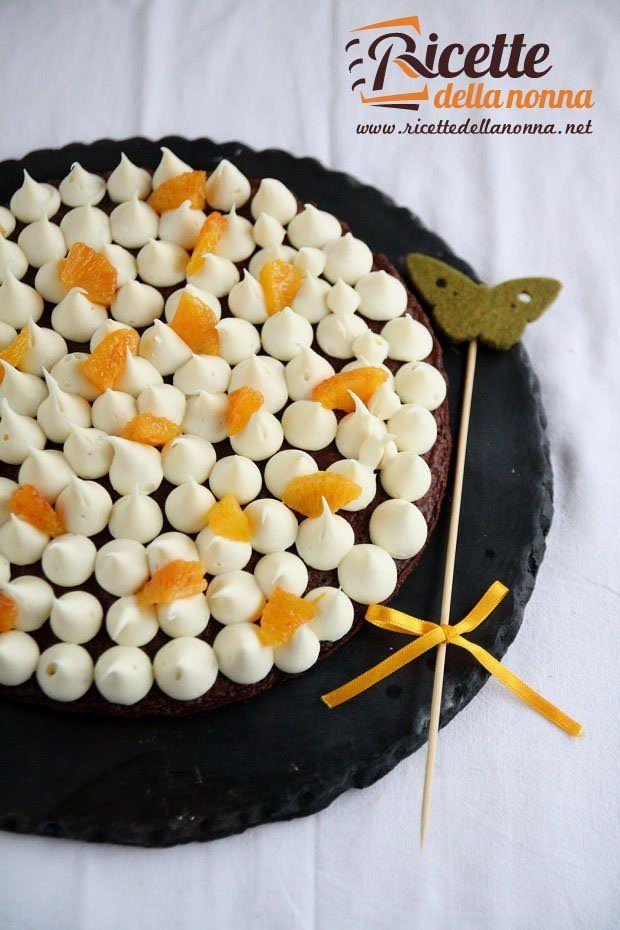 Torta-al-cioccolato-con-crema-arancia