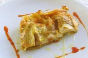 Lasagne alla crema di zucca e funghi
