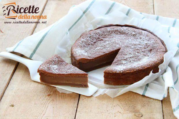 Foto Torta magica al cacao