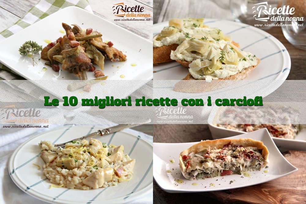 10 ricette con i carciofi semplici e veloci ricette for Ricette veloci e semplici