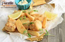 Fish and chips senza glutine