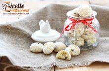 Biscotti arancia e gocce di cioccolato