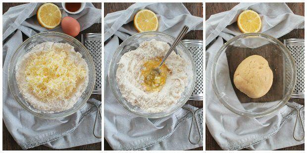 Preparazione crostata alla marmellata