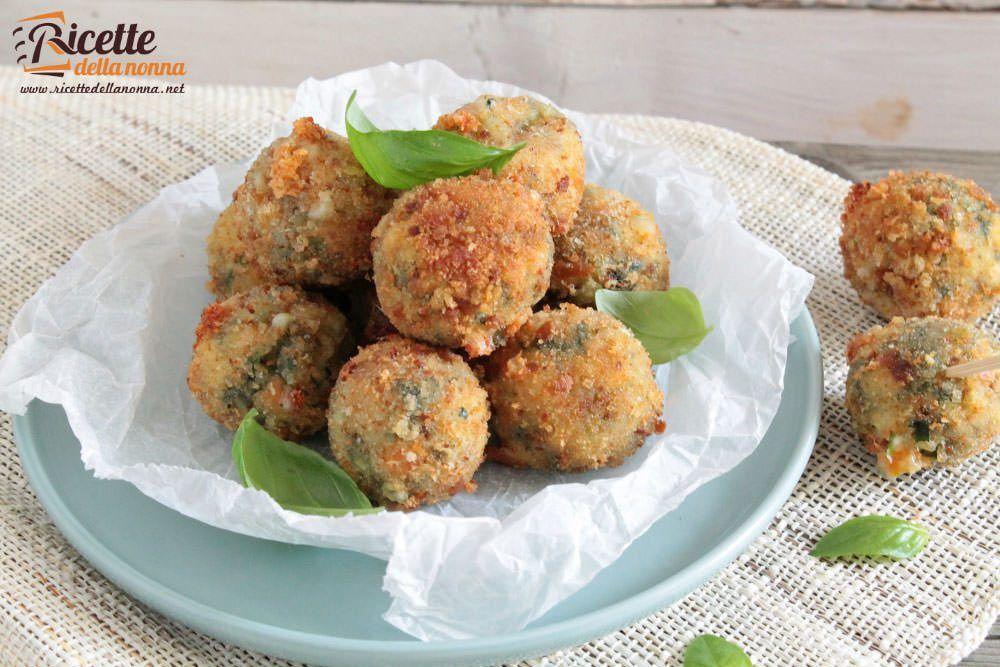Polpette di verdure ricetta passo passo ricette della nonna for Ricette di verdure