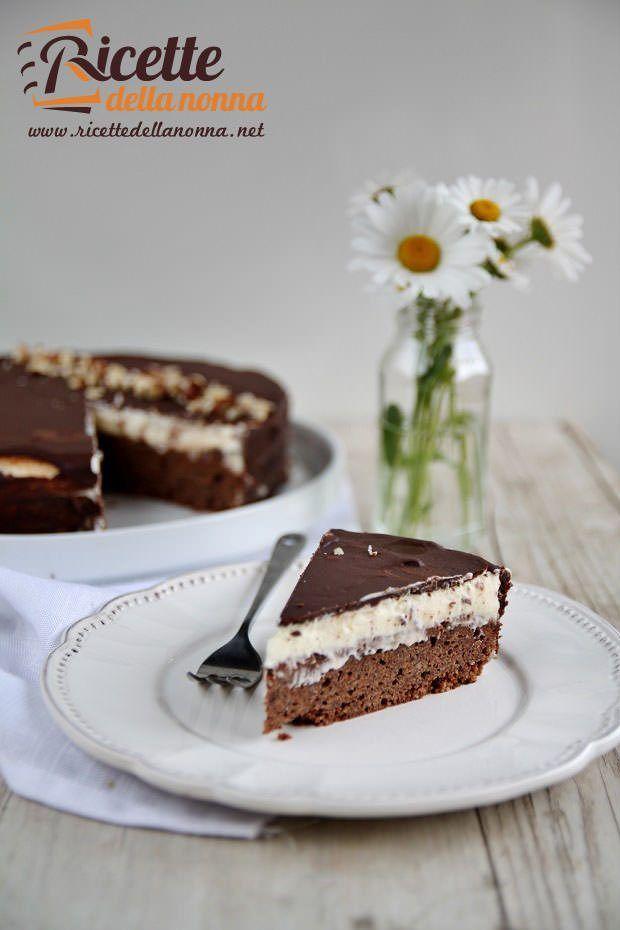 torta cioccolato e vaniglia