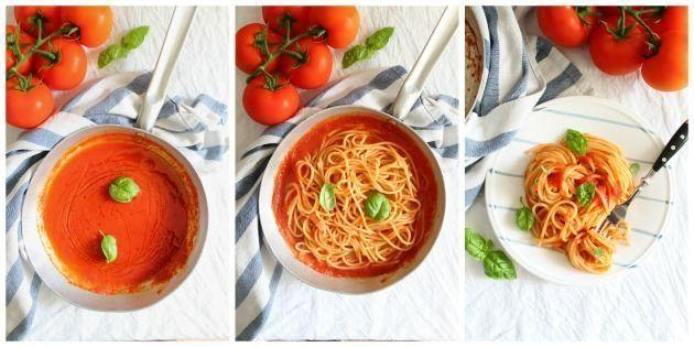 foto spaghetti al pomodoro 2