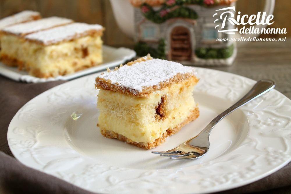 Millefoglie ricette della nonna for Nuove ricette dolci