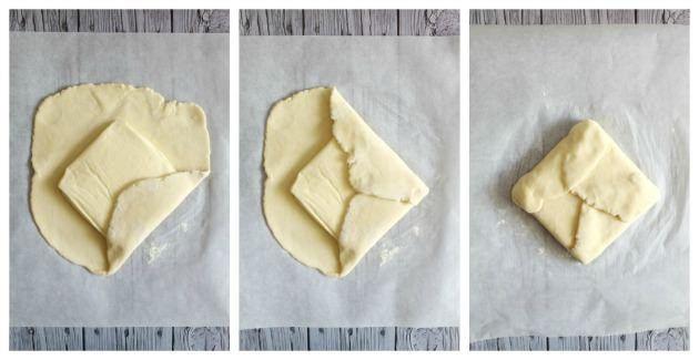 pieghe croissant step by step 2