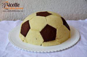 Torta pallone da calcio