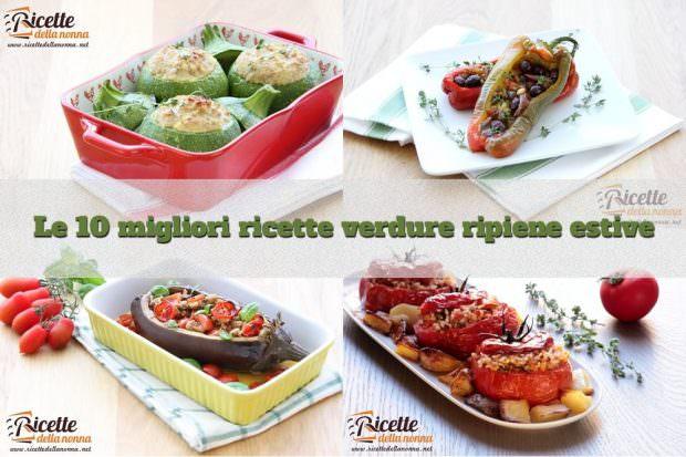 foto 10 migliori ricette verdure ripiene estive