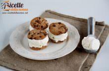 Cookie biscotto gelato senza gelatiera