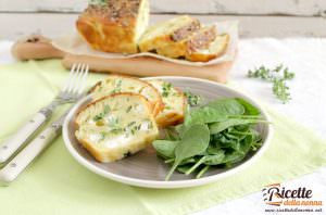 Plumcake salato alle zucchine e morlacco