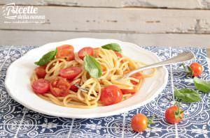 Spaghetti veloci ai pomodorini pachino