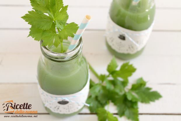 Ricetta succo verde detox