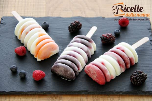 ghiacciolo di frutta