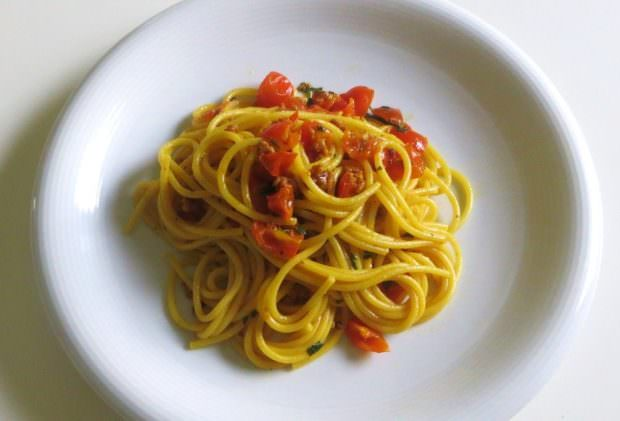 Ricetta spaghetti e zafferano