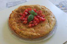 Torta salata di lasagne al pomodoro