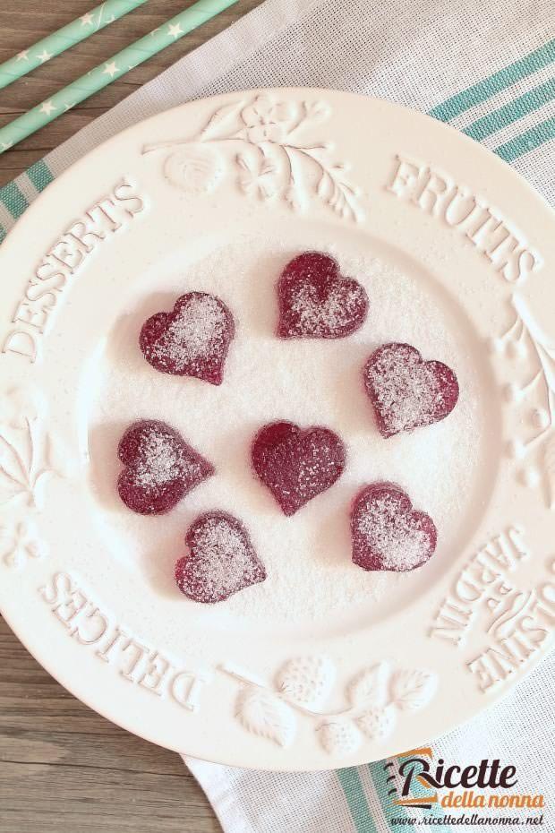 Foto caramelle gommose alla frutta