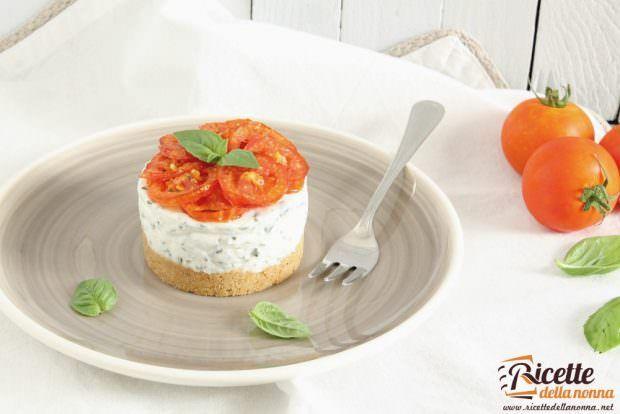 Ricetta cheesecake alla caprese
