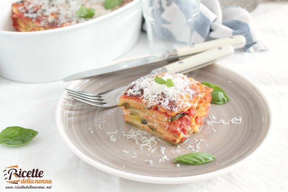 Ricetta parmigiana veloce di zucchine
